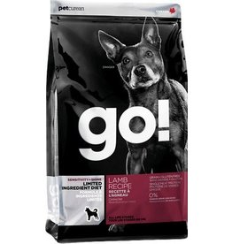 Petcurean GO! Dog Lamb Limited Ingredient Kibble 25 lbs