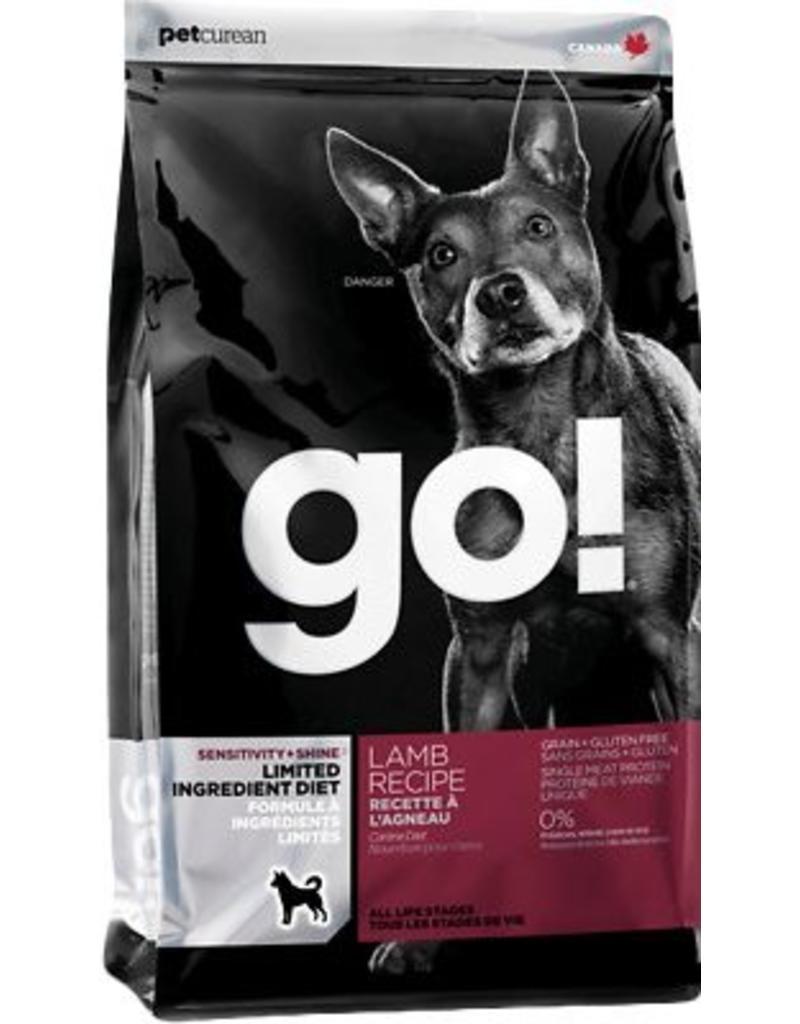 Petcurean GO! Dog Lamb Limited Ingredient Kibble 25 lbs
