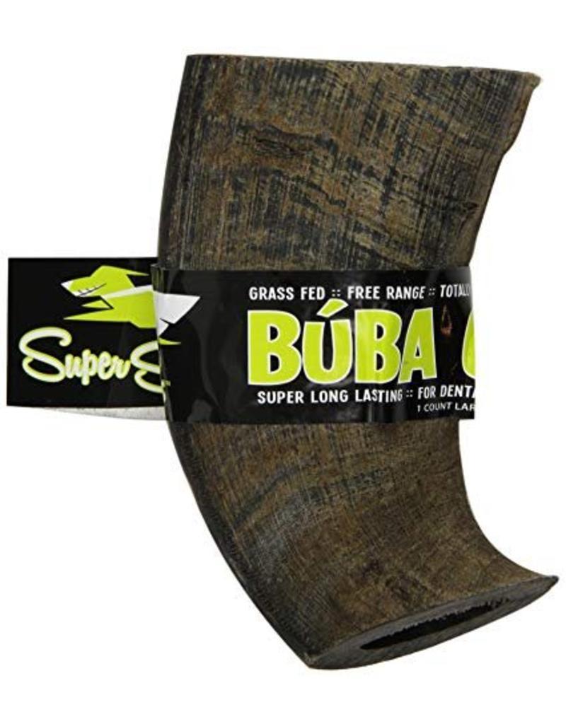 Super Snouts Super Snouts Horns Buba Chew Water Buffalo Horn Large