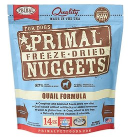 Primal Primal Freeze Dried Dog Nuggets 14 oz Quail