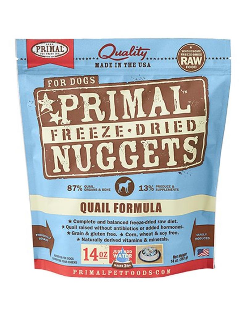 Primal Primal Freeze Dried Dog Nuggets 14 oz Quail