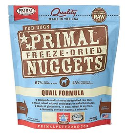 Primal Pet Foods Primal Freeze Dried Dog Nuggets Quail 5.5 oz