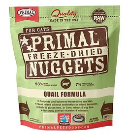 Primal Pet Foods Primal Freeze Dried Cat Nuggets Quail 5.5 oz