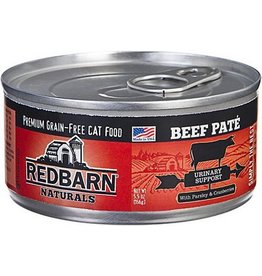 Red Barn Red Barn Canned Cat Food CASE Beef Pate Urinary Support 5.5 oz
