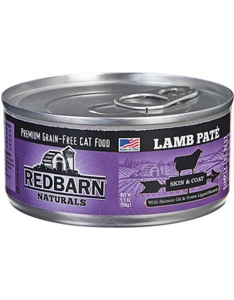 Red Barn Red Barn Canned Cat Food CASE Lamb Pate Skin & Coat 5.5 oz