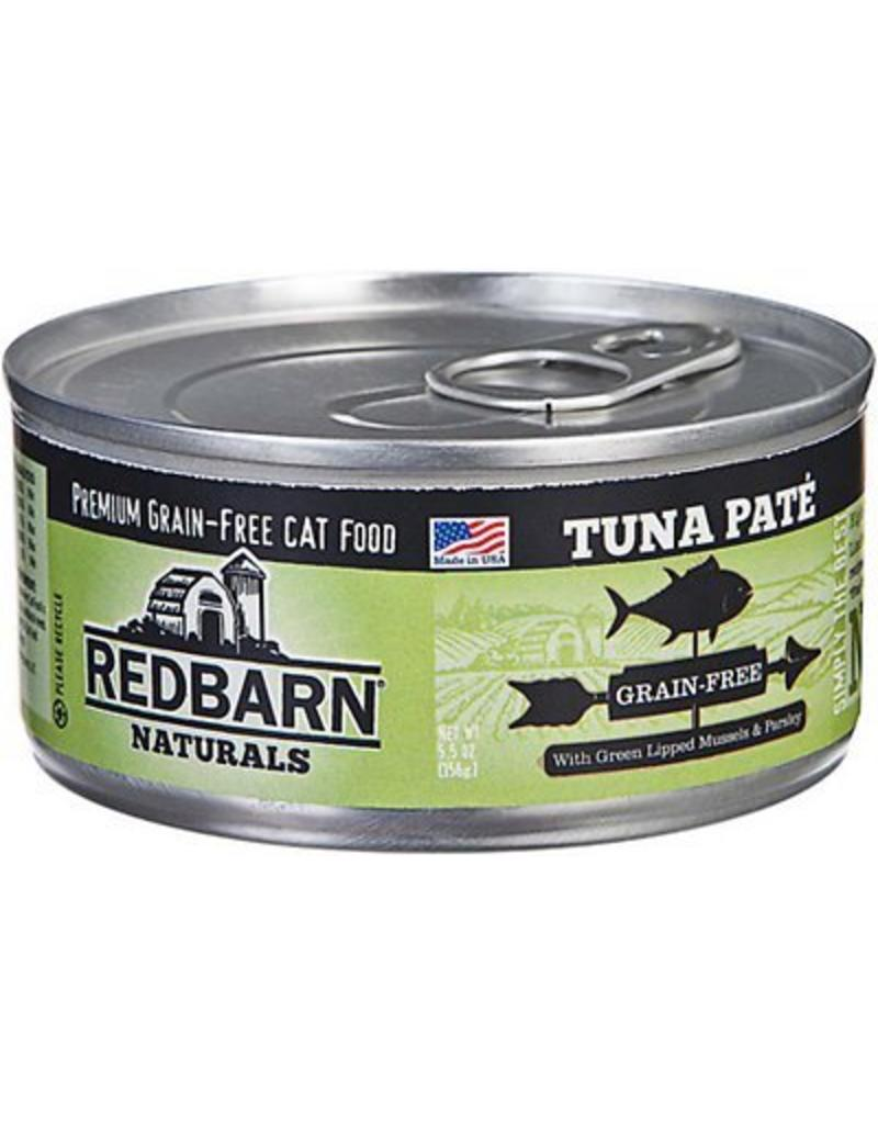 Red Barn Red Barn Canned Cat Food CASE Tuna Pate 5.5 oz