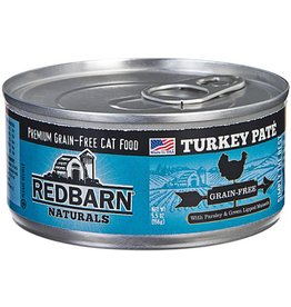 Red Barn Red Barn Canned Cat Food CASE Turkey Pate 5.5 oz