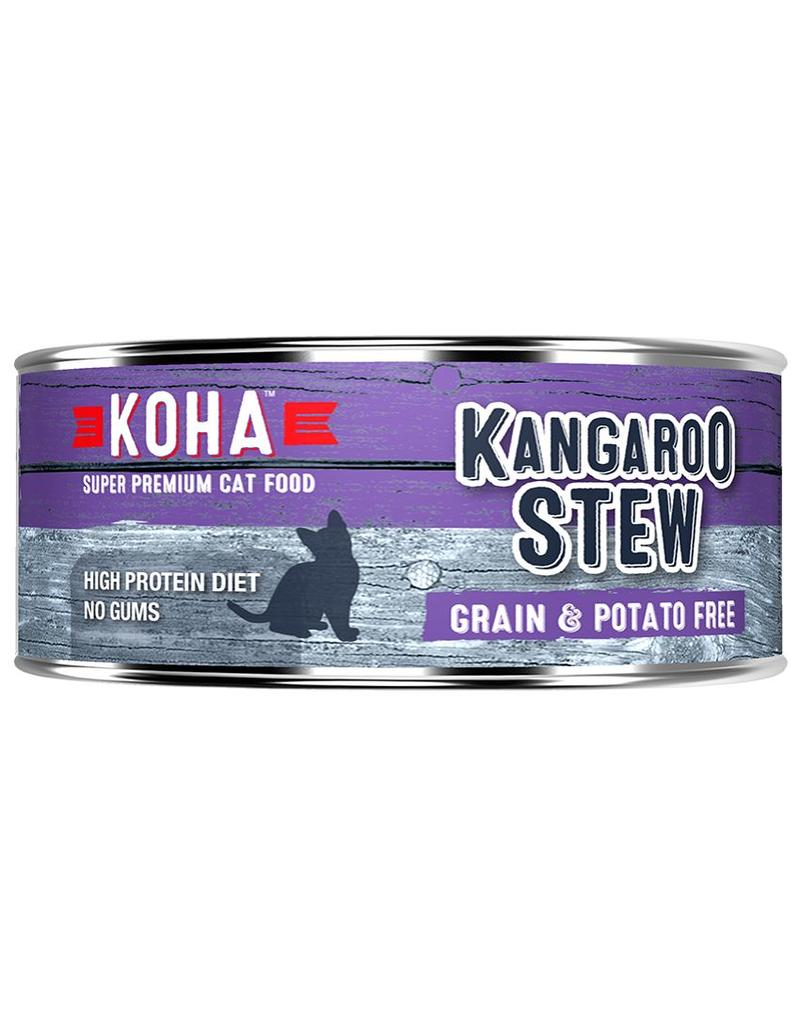 Koha Koha Canned Cat Food CASE of 24 Kangaroo Stew 5.5 oz