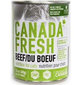 Petkind Petkind Canada Fresh Canned Cat Food CASE of 12 Beef 13 oz