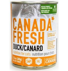 Petkind Petkind Canada Fresh Canned Cat Food CASE of 12 Duck 13 oz