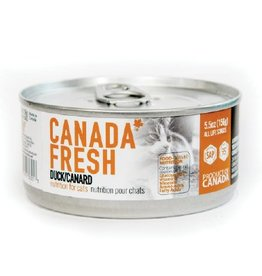 Petkind Petkind Canada Fresh Canned Cat Food CASE Duck 5.5 oz