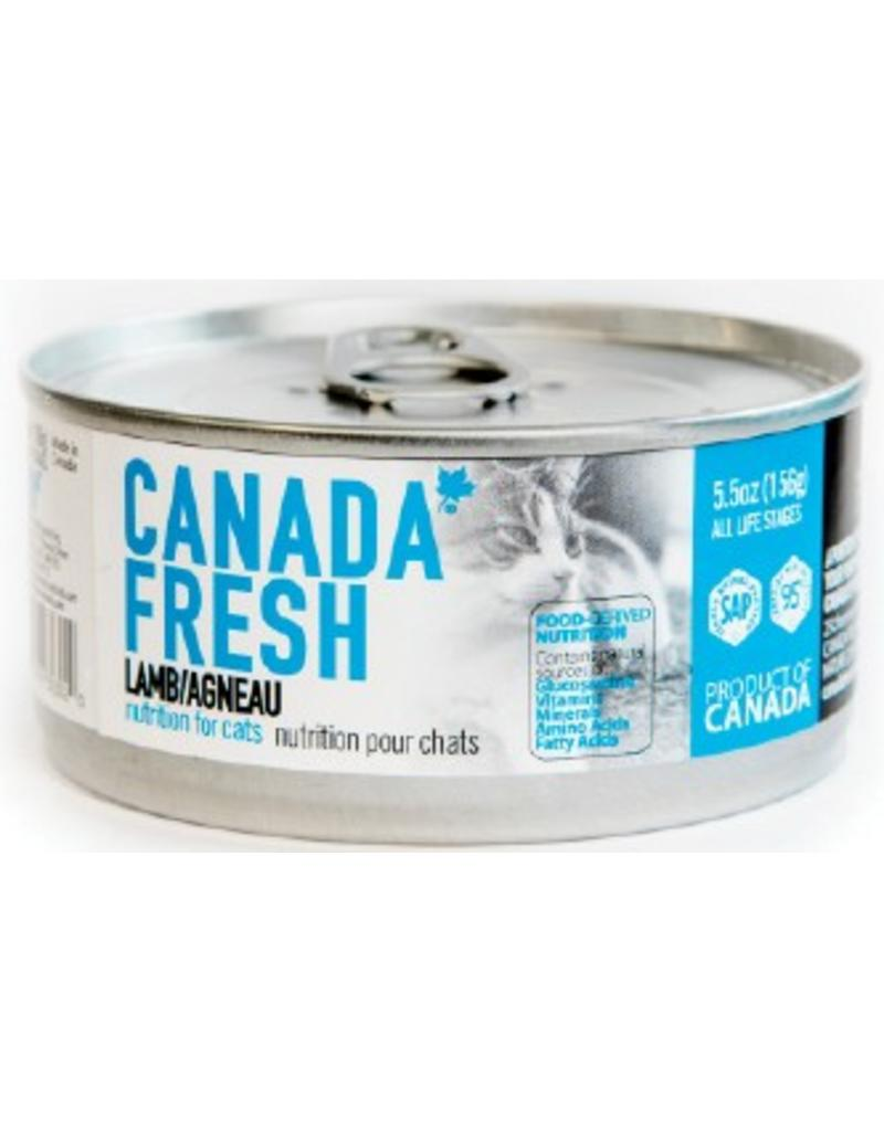 Petkind Petkind Canada Fresh Canned Cat Food CASE  of 12 Lamb 5.5 oz