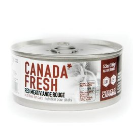 Petkind Petkind Canada Fresh Canned Cat Food CASE of 12 Red Meat 5.5 oz