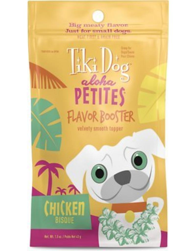 Tiki Dog Aloha Petites Flavor-Booster Pouches Chicken Bisque 1.5 oz single