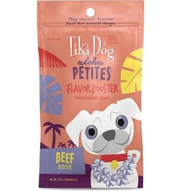 Tiki Dog Aloha Petites Flavor-Booster Pouches Beef Bisque 1.5 oz single