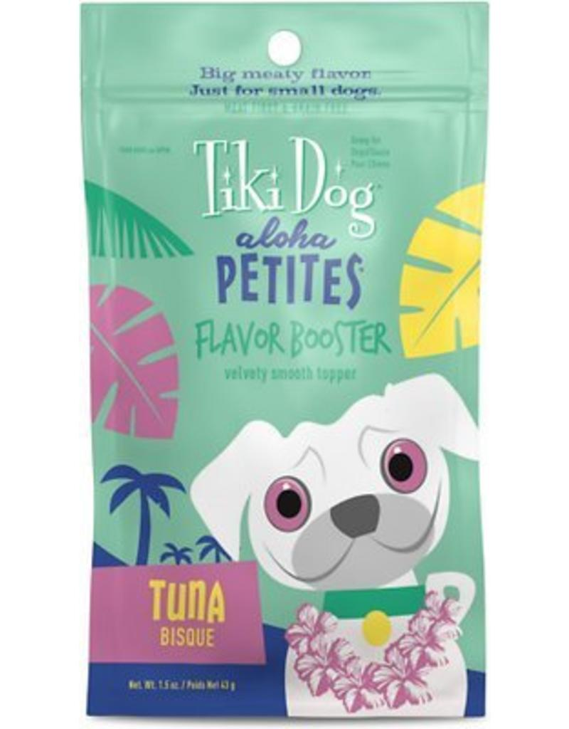 Tiki Dog Aloha Petites Flavor-Booster Pouches Tuna Bisque 1.5 oz single