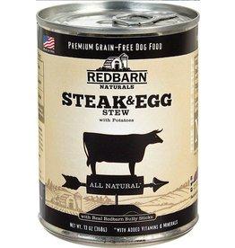 Red Barn Red Barn Canned Dog Food Steak & Egg Stew 13 oz single DISC