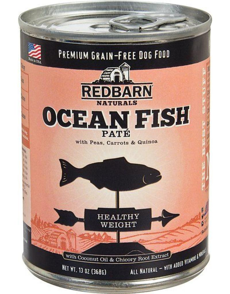 Red Barn Red Barn Canned Dog Food Ocean Fish Pate Healthy Weight 13 oz single