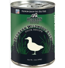 Red Barn Red Barn Canned Dog Food Wildwood Duck Stew Skin & Coat 12.5 oz single