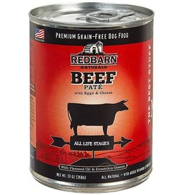 Red Barn DISC Red Barn Canned Dog Food Beef Pate 13 oz single