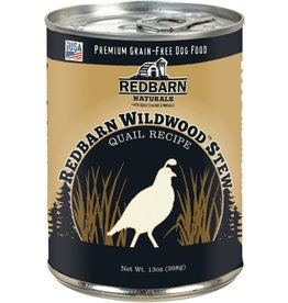 Red Barn StrongRed Barn Canned Dog Food Wildwood Quail Stew Teeth & Bones 12.5 oz single