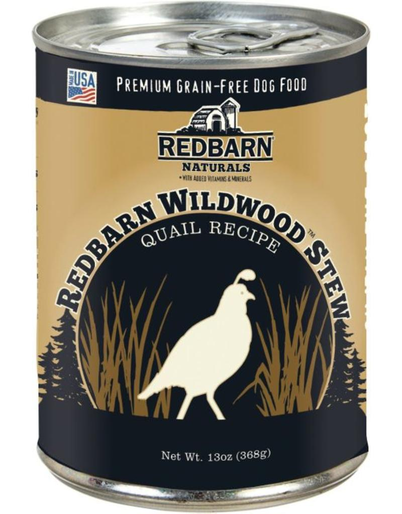 Red Barn Red Barn Canned Dog Food Wildwood Quail Stew Strong Teeth & Bones 12.5 oz single