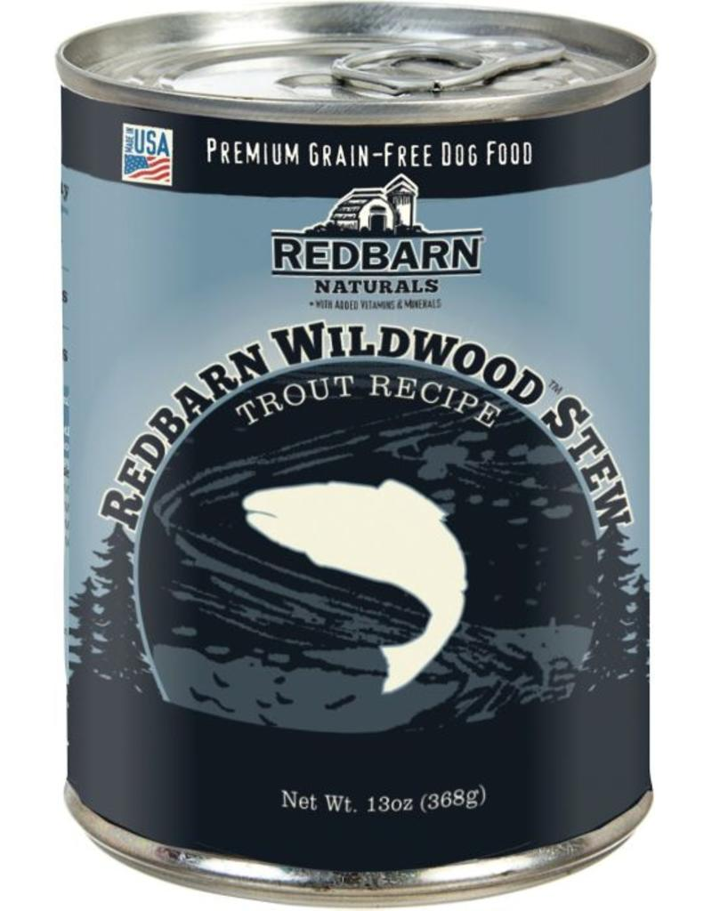 Red Barn Red Barn Canned Dog Food Wildwood Trout Stew Joint Support 12.5 oz single