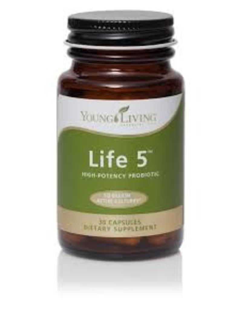 Young Living Supplements Life 5 High Potency Probiotic 30 capsules