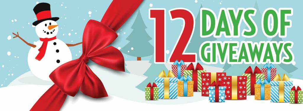 Announcing Our 12 Days of Giveaways!
