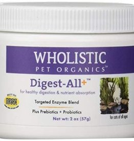 Wholistic Pet Organics Wholistic Pet Organics Digest All Plus Cats 2 oz