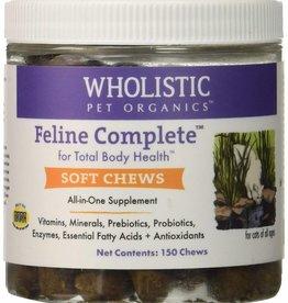 Wholistic Pet Organics Wholistic Pet Organics CAT Feline Compete Soft Chews 150 chews