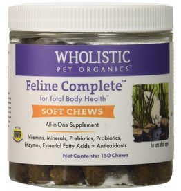 Wholistic Pet Organics Wholistic Pet Organics Feline Compete Soft Chews 150 Chews