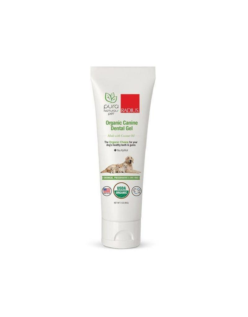 Pura Naturals Organic Canine Dental Gel 3 oz