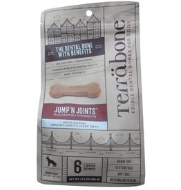 Presidio Natural Pet Co Terrabone Dental Bones 13.5 oz Jump'N Joints Large