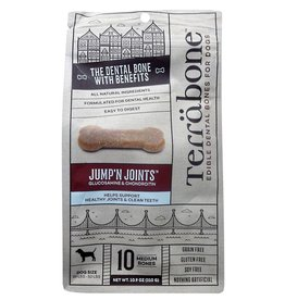 Presidio Natural Pet Co Terrabone Dental Bones 10.9 oz Jump'N Joints Medium