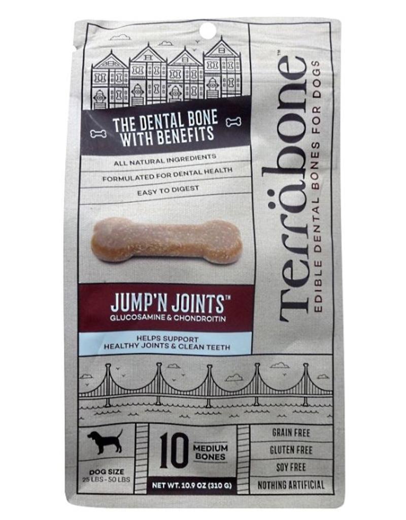 Presidio Natural Pet Co Terrabone Dental Bones 10.9 oz Jump'N Joints Medium