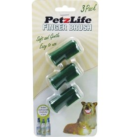 Petzlife PETZLIFE Oral Care Finger Brush 3 Pack
