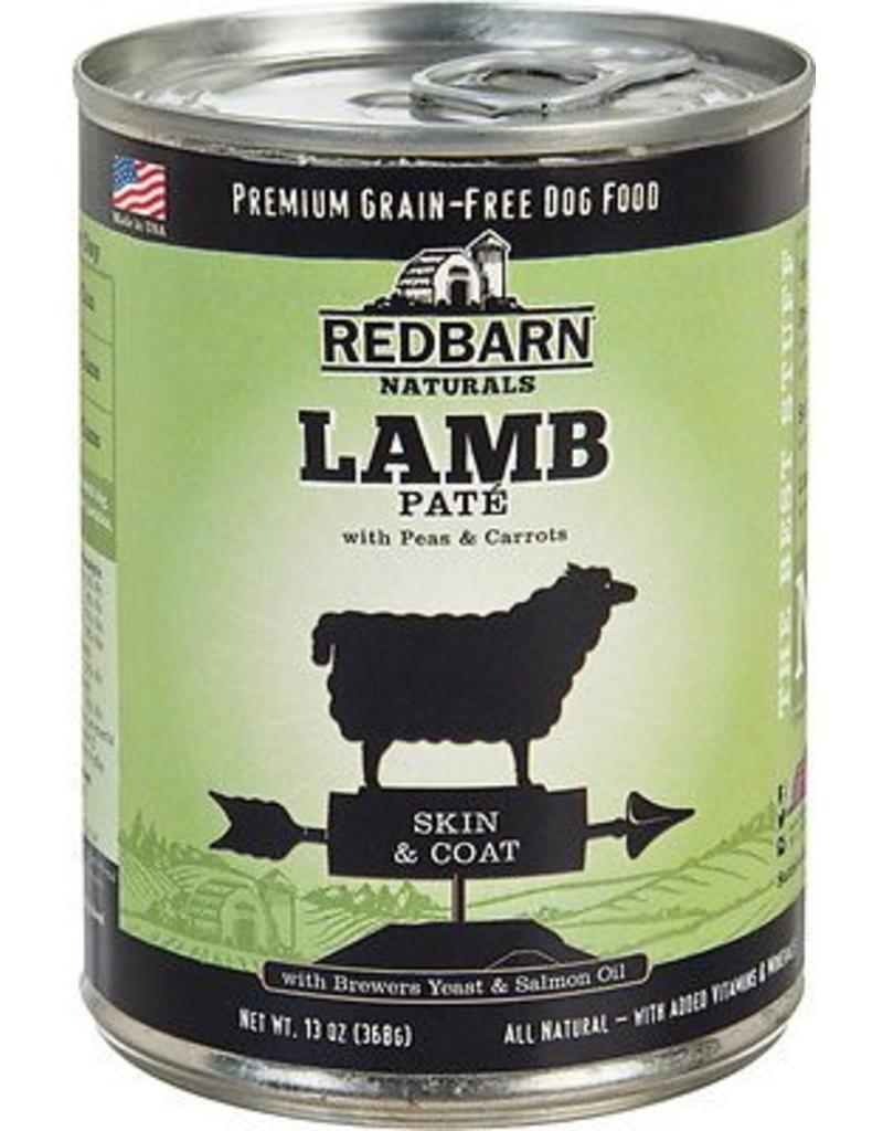 Red Barn Red Barn Canned Dog Food Lamb Pate Skin & Coat 13 oz single
