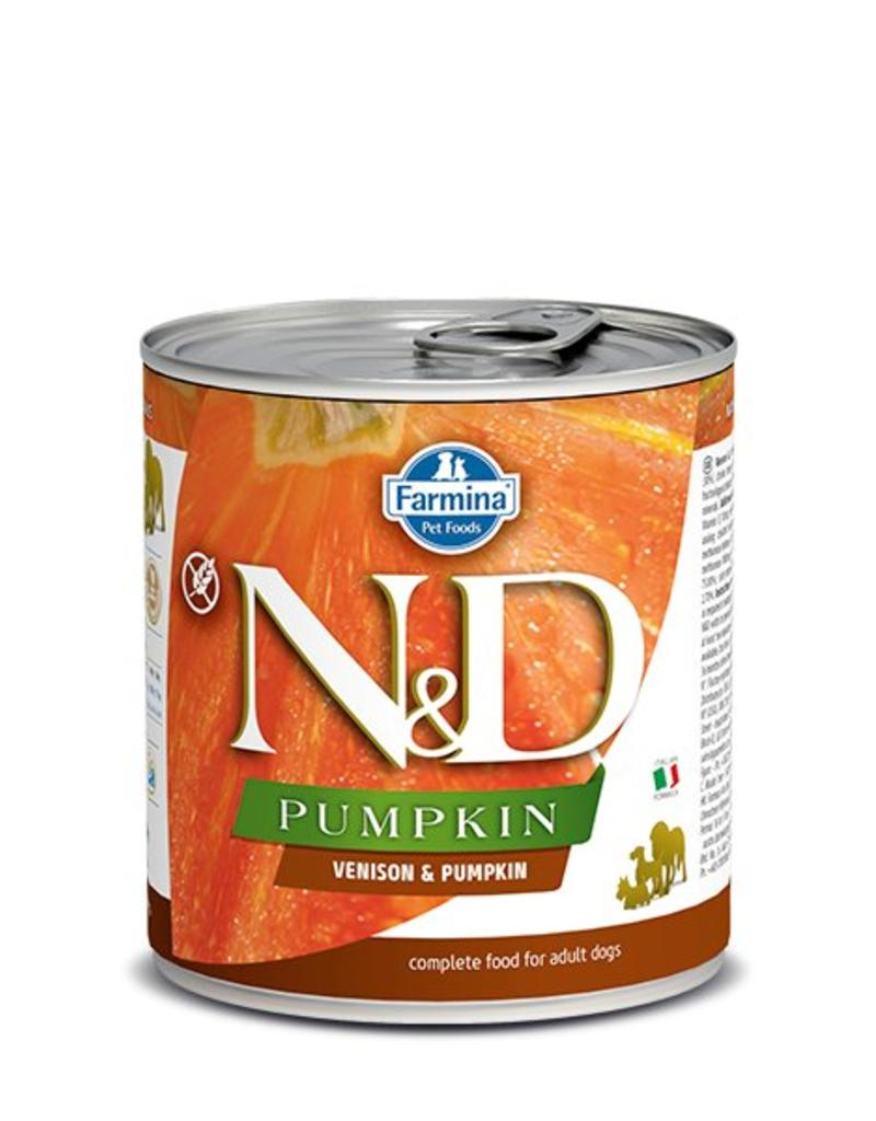 Farmina Pet Foods Farmina GF Dog Cans CASE Pumpkin Venion & Apple Adult 10.05 oz
