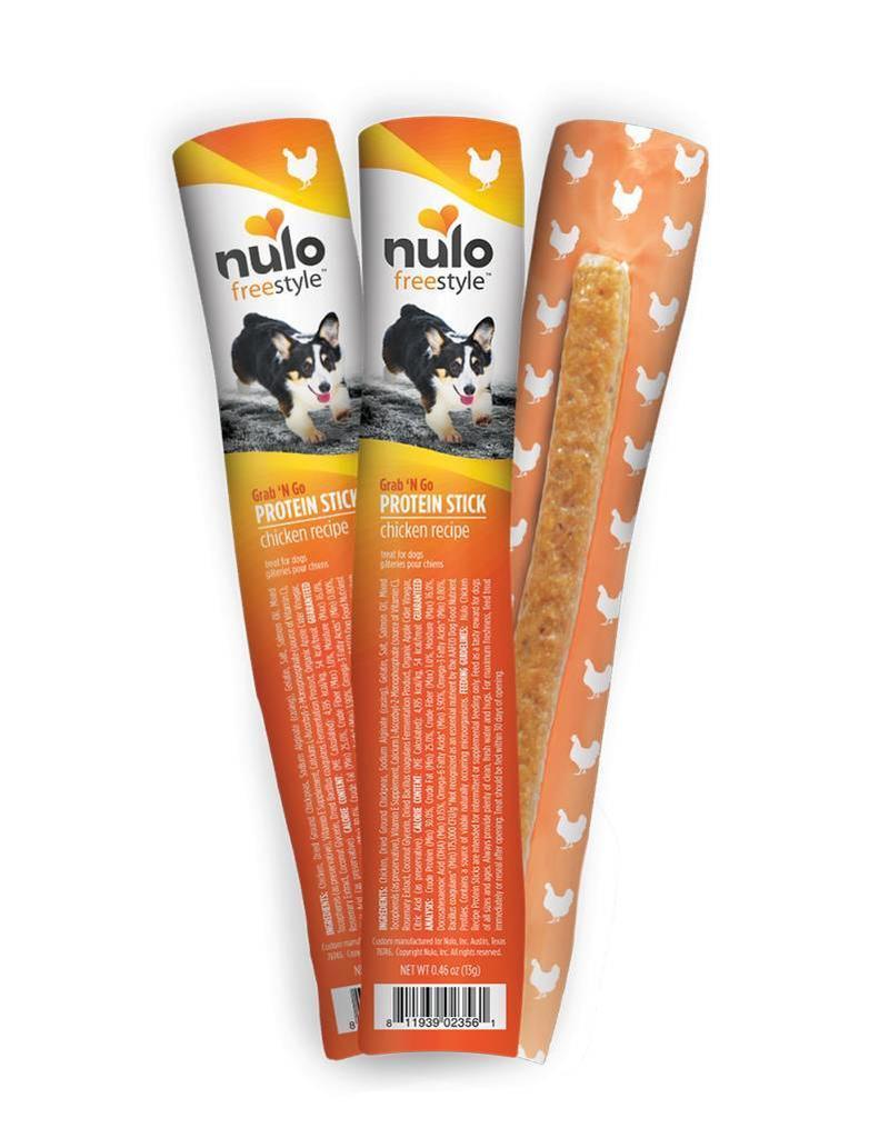 Nulo Nulo Freestyle Dog Protein Sticks Chicken 0.4 oz single