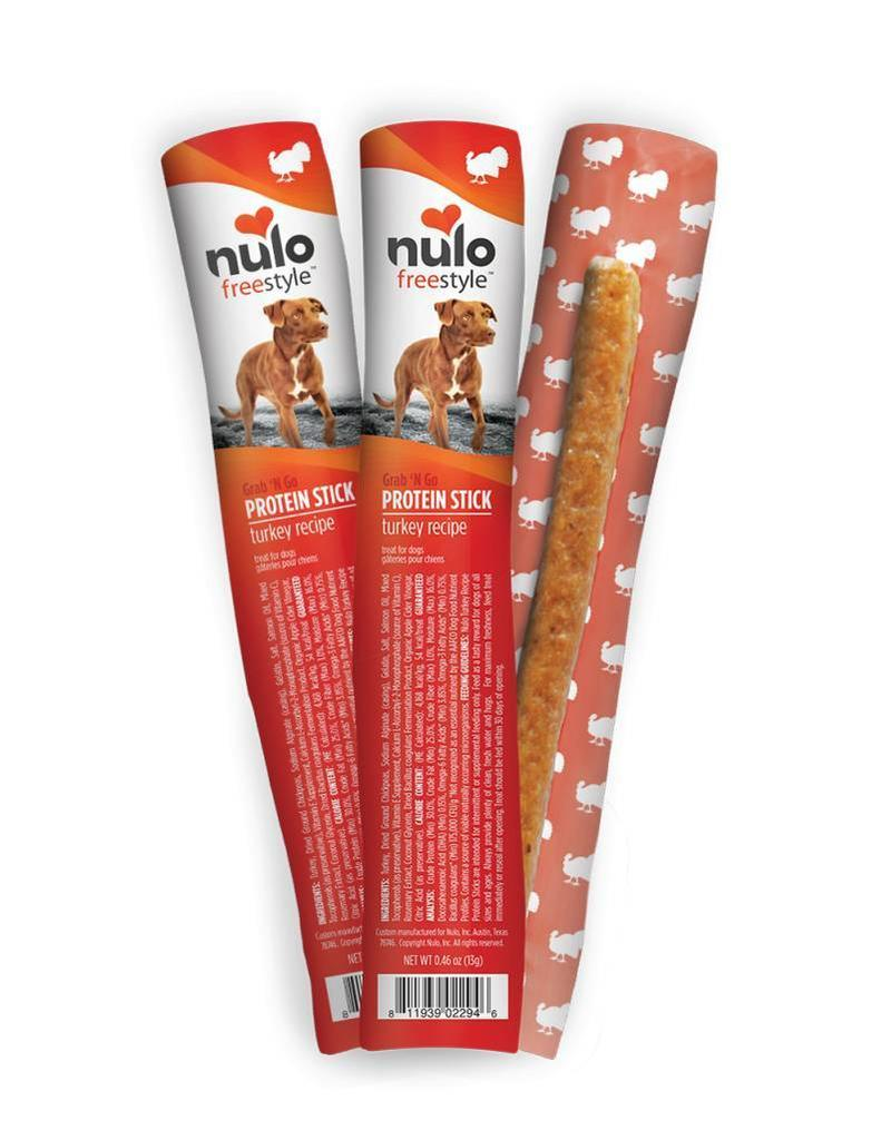 Nulo Nulo Freestyle Dog Protein Sticks Turkey 0.4 oz single