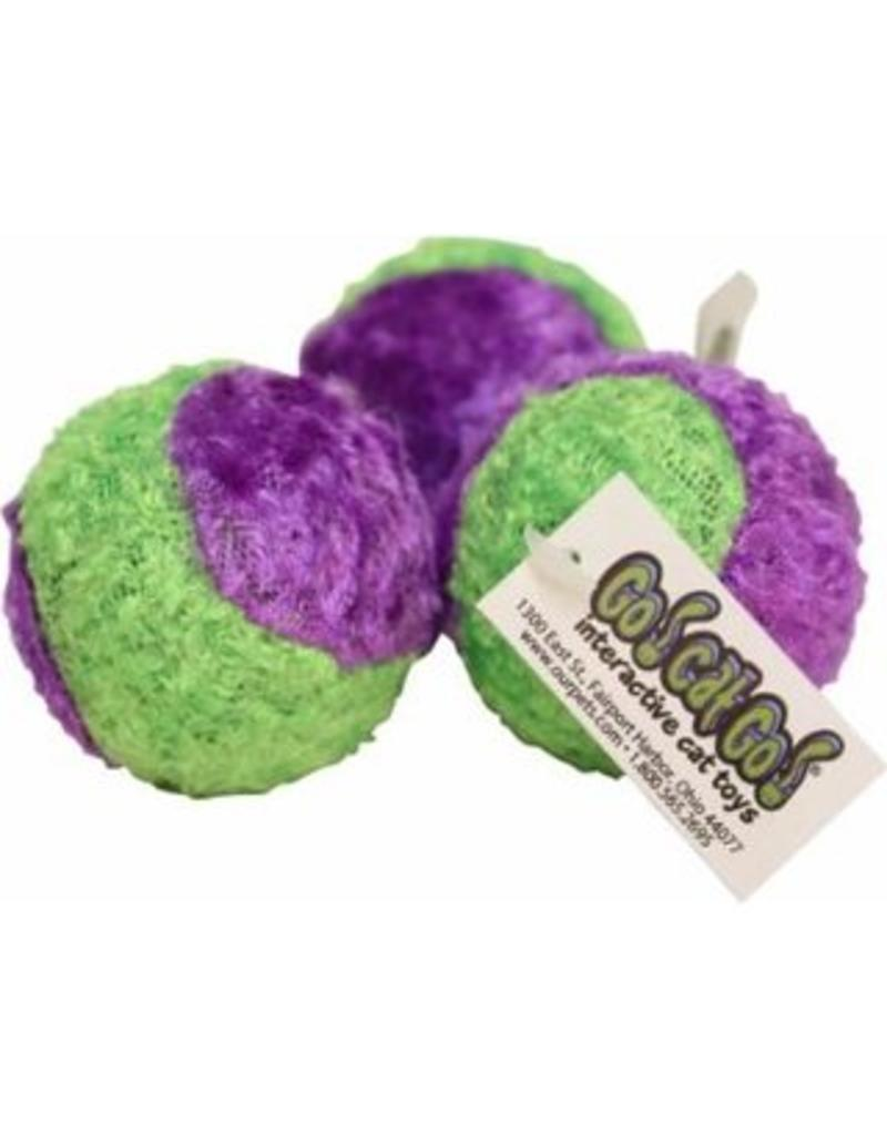 Cosmic Cosmic Cat Toys Fuzzy Tennis Ball single