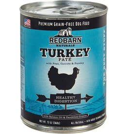 Red Barn Red Barn Canned Dog Food Turkey Pate Healthy Digestion 13 oz single