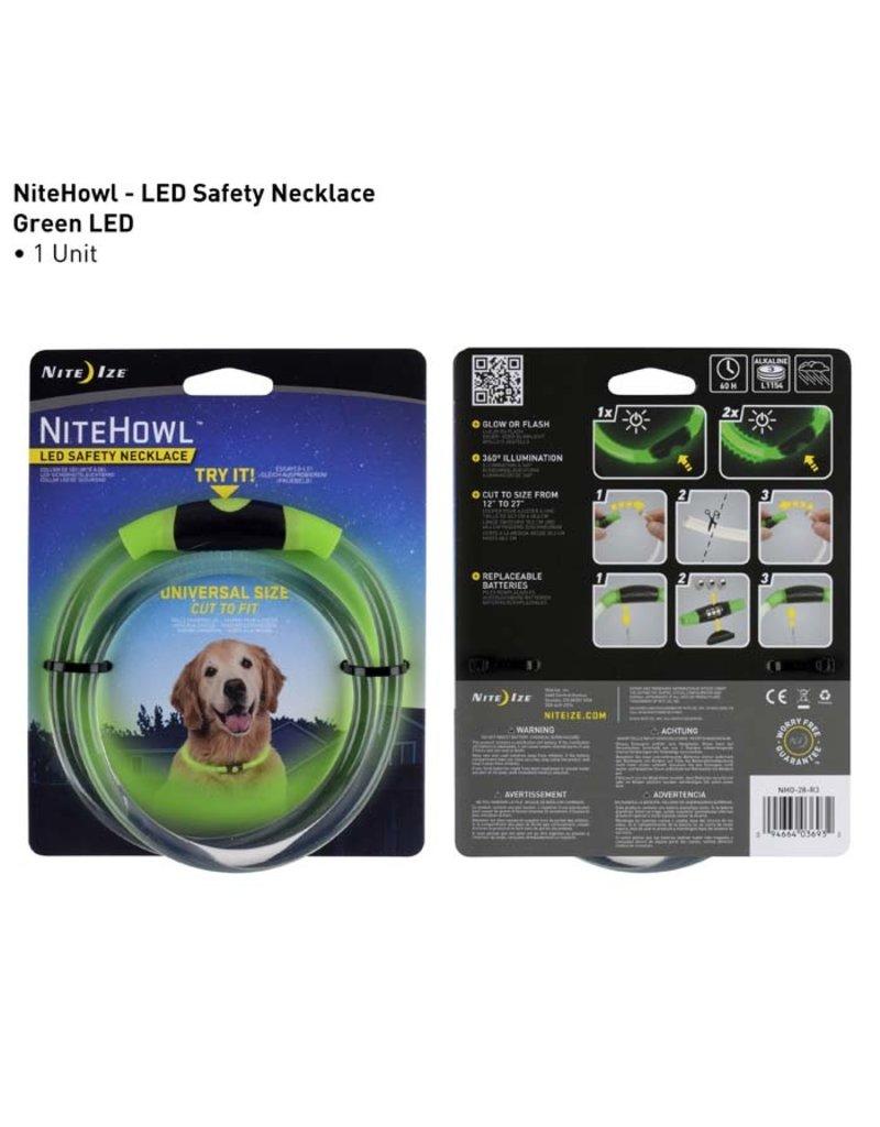 Nite Ize Nite Ize NiteHowl LED Safety Necklace Green