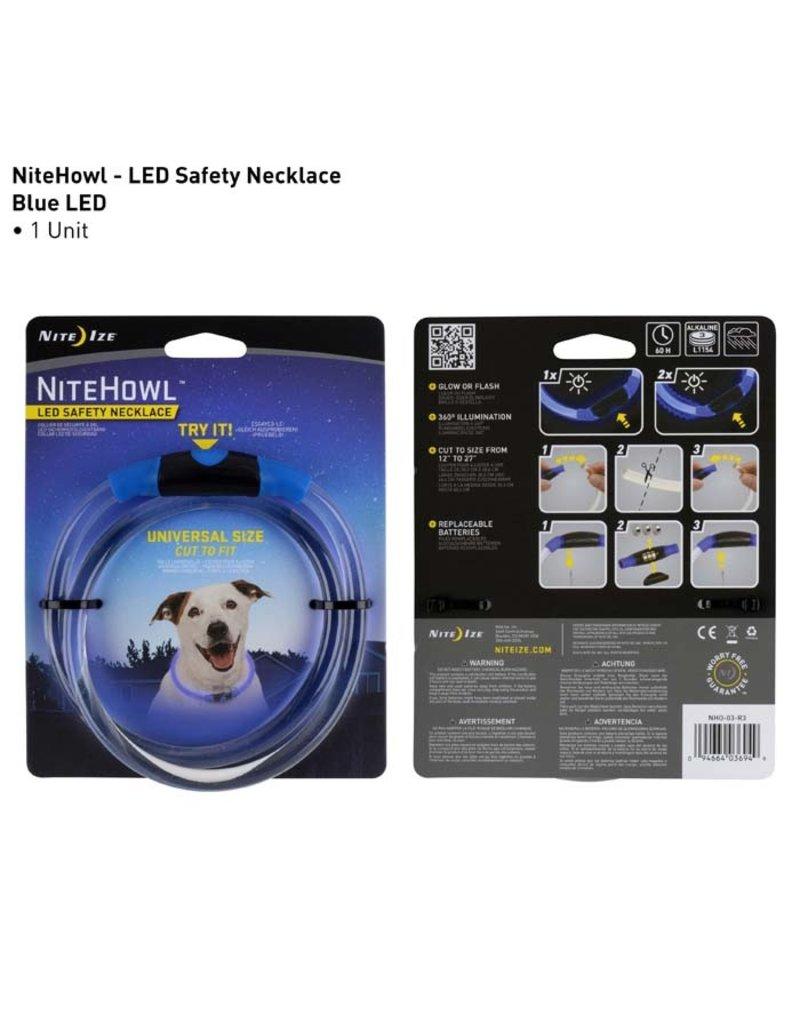 Nite Ize Nite Ize NiteHowl LED Safety Necklace Blue