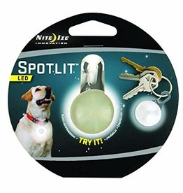 Nite Ize Nite Ize SpotLit LED Collar Light Eco Pkg White