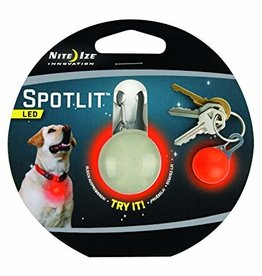 Nite Ize Nite Ize SpotLit LED Collar Light Eco Pkg Red