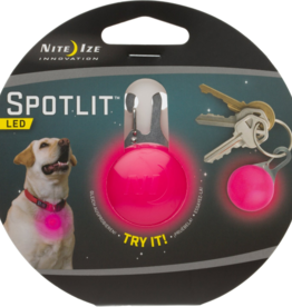 Nite Ize Nite Ize SpotLit LED Collar Light Eco Pkg Pink