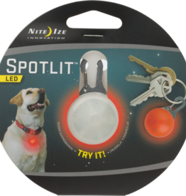 Nite Ize Nite Ize SpotLit LED Collar Light Eco Pkg Orange