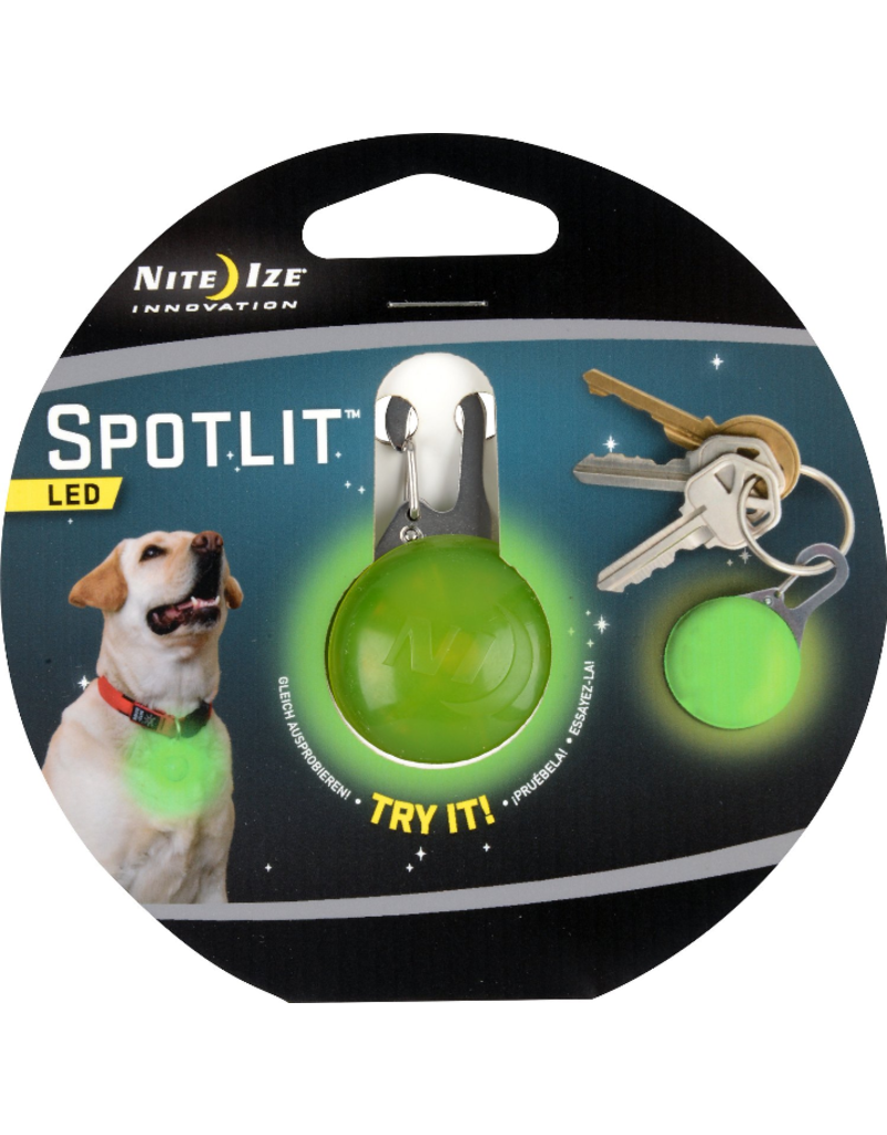 Nite Ize Nite Ize SpotLit LED Collar Light Eco Pkg Lime